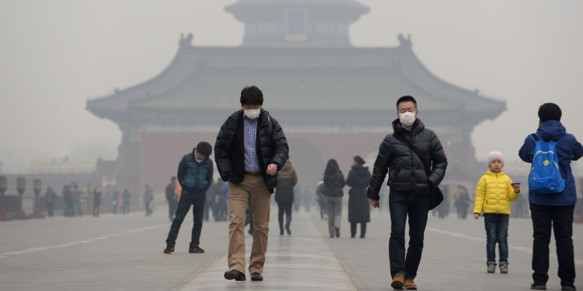 CHINA-ENVIRONMENT-POLLUTION